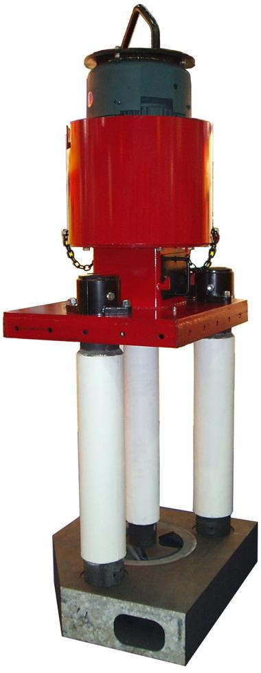 THOR circulation pump which generates more metal flow